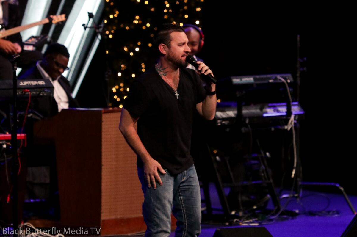 Danny Crosby at A Worship Christmas.