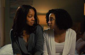 Amanda Stenberg plays Madeline opposite Anika Noni Rose as her mother.