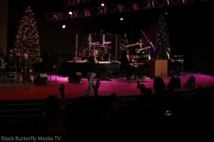 Danny Crosby at 95.7 Hallelujah FM Worship Christmas #957Christmas — at Hope Church.