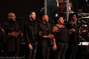 A Worship Christmas background singers.