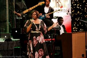 Tracy Bethea at Worship Christmas 2017. — at Hope Church.
