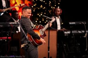 Todd Dulaney at 95.7 Hallelujah FM Worship Christmas #957Christmas — at Hope Church.