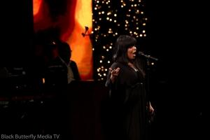 Ce Ce Winans at 95.7 Hallelujah FM Worship Christmas #957Christmas — at Hope Church.