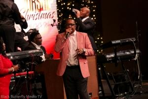 Andre Monie at A Worship Christmas 2017