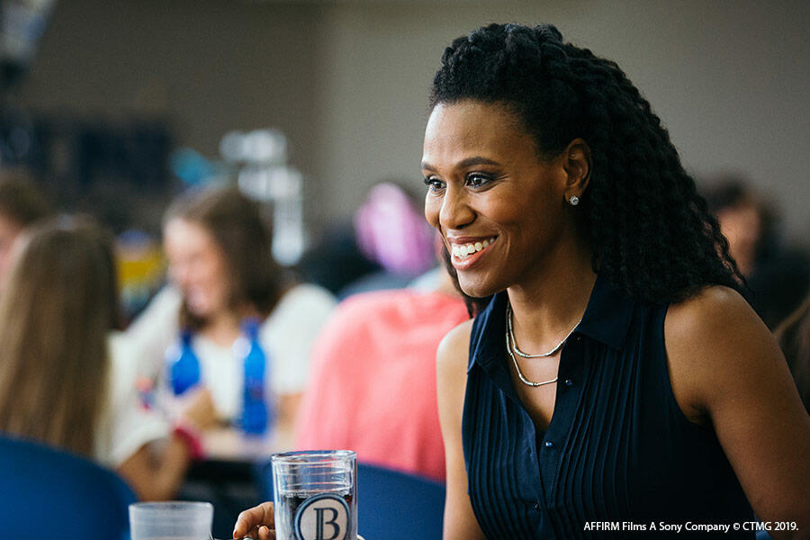 "Priscilla C. Shirer in the movie ""Overcomer"""